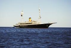 Sardinige. Megayacht Royalty-vrije Stock Afbeeldingen