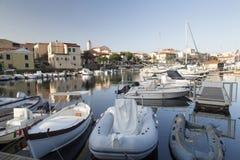 Sardinige - Stintino royalty-vrije stock fotografie