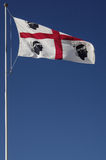 sardinige Te winden vlag Stock Fotografie