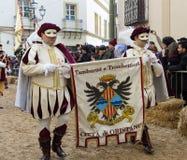 Sardinisch, Festival von Sartiglia lizenzfreies stockbild