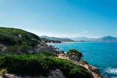 Sardinische Küste Lizenzfreies Stockfoto