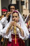 Sardinische Musik und Traditionen Stockbilder