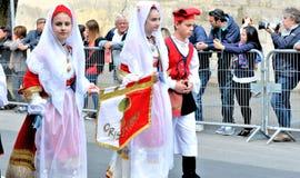 Sardinische Tradition Lizenzfreies Stockbild