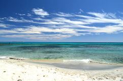 Sardinisches Meer Stockfotos