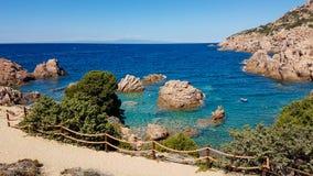 Sardinisches Meer Stockbild