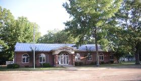 Sardis密西西比公立图书馆大厦 免版税库存图片