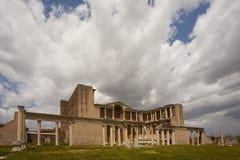 Sardis Gymnasium on a Cloudy Day Royalty Free Stock Image