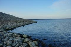 Sardis jezioro zdjęcia royalty free