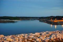 Sardis jezioro zdjęcia stock