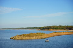 Sardis Lake Royalty Free Stock Images
