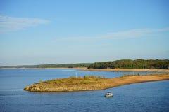 Sardis sjö Royaltyfria Bilder