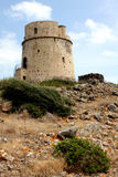 Sardisch landschap Stock Afbeeldingen