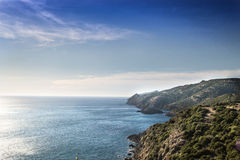 Sardisch landschap Stock Fotografie