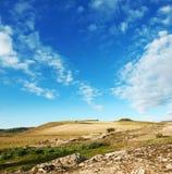 Sardisch platteland Royalty-vrije Stock Fotografie