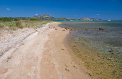 Sardisch strand, Italië Stock Foto