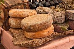 Sardische kaas Royalty-vrije Stock Afbeeldingen