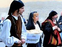 Sardische traditie Royalty-vrije Stock Foto