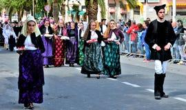 Sardische traditie Stock Afbeelding