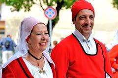 Sardische traditie Royalty-vrije Stock Afbeeldingen