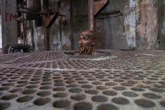 Sardono's Fabriek retrospettivo Fikr Fotografia Stock