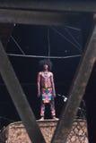 ` Sardono W Kusumo rückwirkendes ` Fabriek Fikr Stockbild