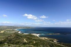 Sardyński krajobraz Zdjęcie Stock