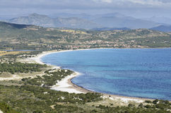 Sardyński krajobraz Obrazy Royalty Free