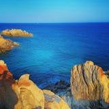 Sardyński morze Obraz Royalty Free