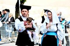 Sardyńska tradycja fotografia stock