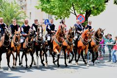Sardyńska tradycja obraz royalty free