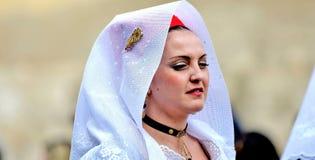 Sardyńska tradycja zdjęcia royalty free