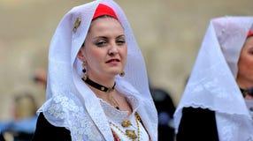 Sardyńska tradycja fotografia royalty free