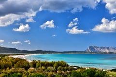 Sardyński morze Zdjęcie Stock