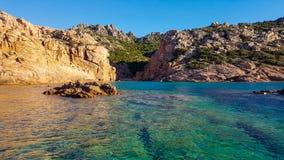 Sardyński morze Fotografia Royalty Free