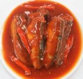 Sardynki W Pomidorowym Kumberlandzie zdjęcie royalty free