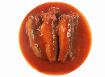 Sardynki W Pomidorowym Kumberlandzie obrazy royalty free