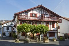Sare basque village. In the south of France royalty free stock images