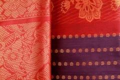 saree индейца конструкции Стоковое Изображение RF