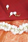 Saree en soie Images stock