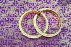 saree indyjski jedwab zdjęcia stock