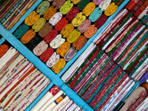 saree sklepu Zdjęcie Stock