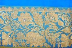 Saree van de zijde royalty-vrije stock afbeeldingen