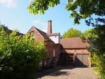 Sarehole磨房,伯明翰,英国 免版税库存照片