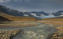 Sarek-Fluss Lizenzfreies Stockfoto