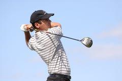 Sarel Sohn Houi am Golf Prevens Trpohee 2009 Stockfotografie