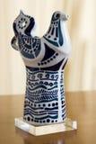 Sargadelos figurine Royalty Free Stock Image