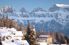Sargans die Schweiz Lizenzfreies Stockfoto