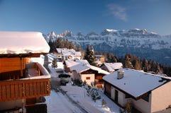 Sargans die Schweiz Stockfotos