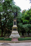 The Sargent Jasper monument in Battery Park, Charleston, SC Stock Photos