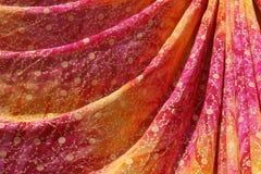 sari coloré de l'Inde Images stock